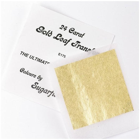 Gold Writing Icing 25g HOC
