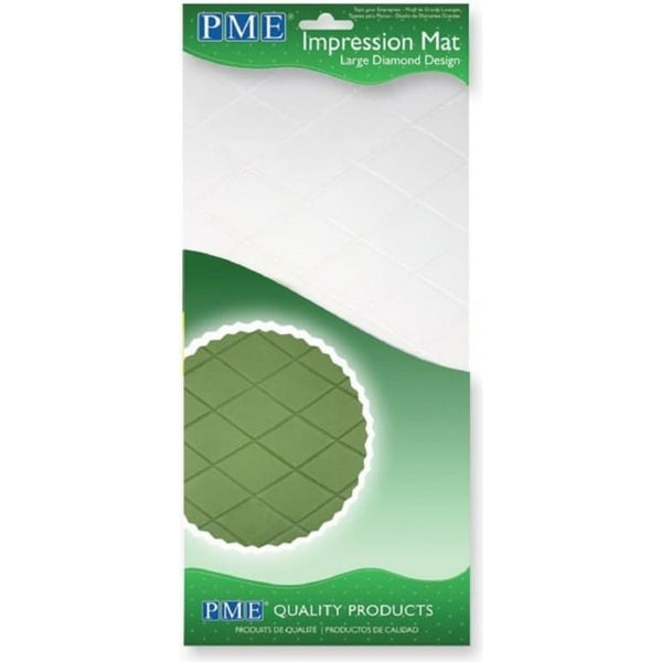 PME Impression Mat Large Diamond