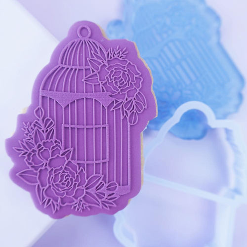 Floral  Birdcage OUTboss STAMP N CUT