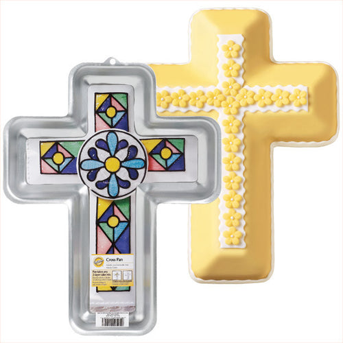 Wilton Cross Tin Communion