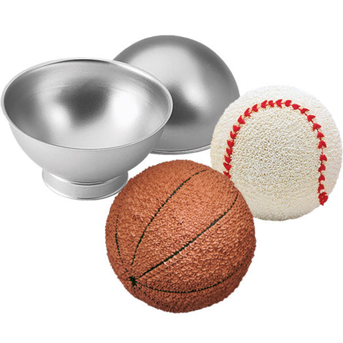 Wilton 3D Sports Sphere Ball Tin