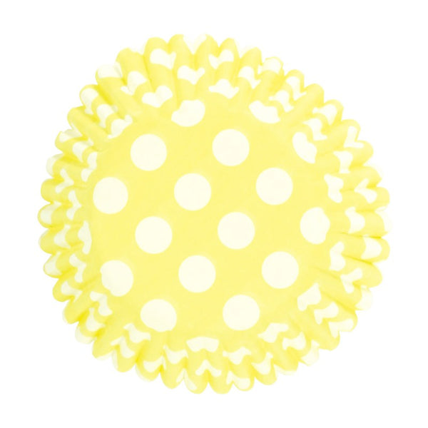 Culpitt Cupcake Cases Yellow Polka