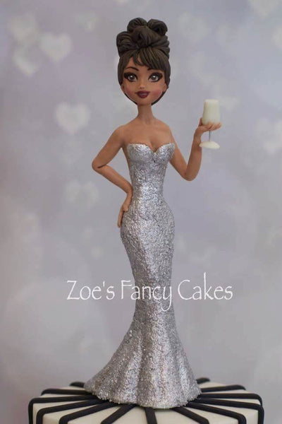 Glitter Girl Modelling Class with Zoes Fancy cakes