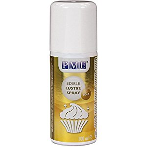 PME Gold Lustre Spray 100ml