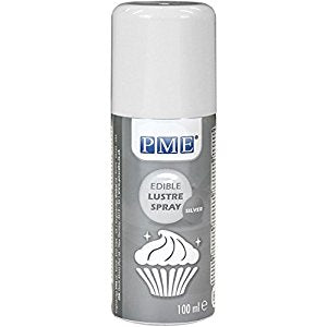PME Silver Lustre Spray 100ml