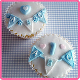 Bunting Letter Mould Katy Sue