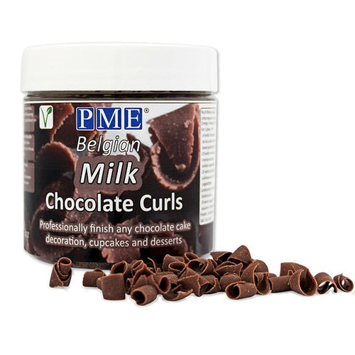 Milk Chocolate Curls 3oz (85g)