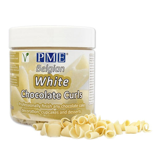 White Chocolate Curls 3oz (85g)