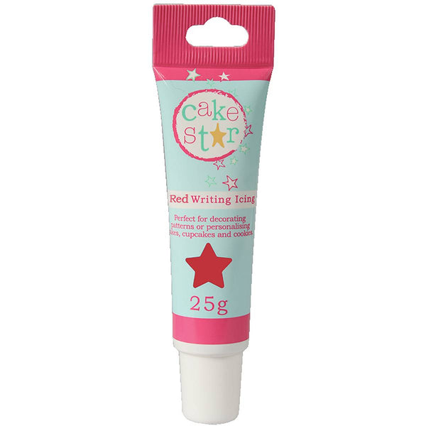 Cake Star Red Writing Icing 25g