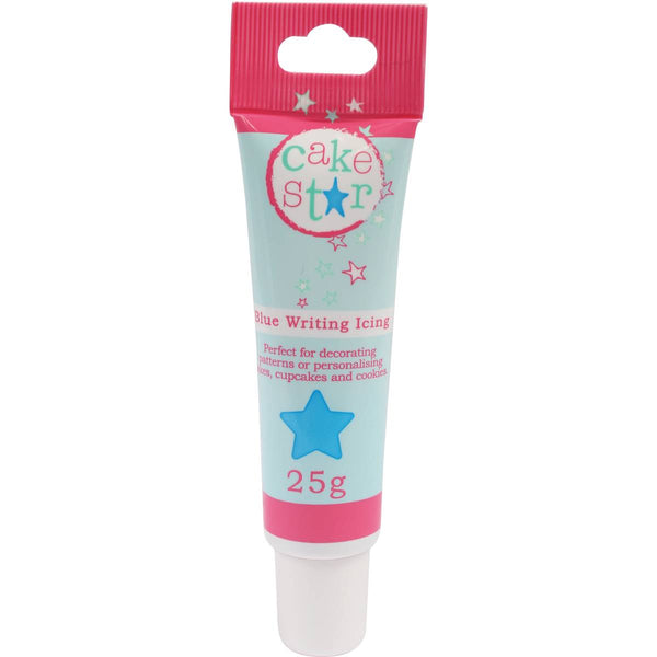 Cake Star Blue Writing Icing 25g