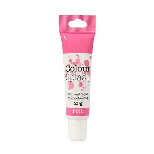 Pink Colour Splash Gel Paste 25g