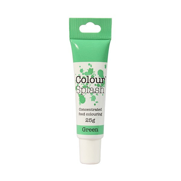 Green Colour Splash Gel Paste 25g