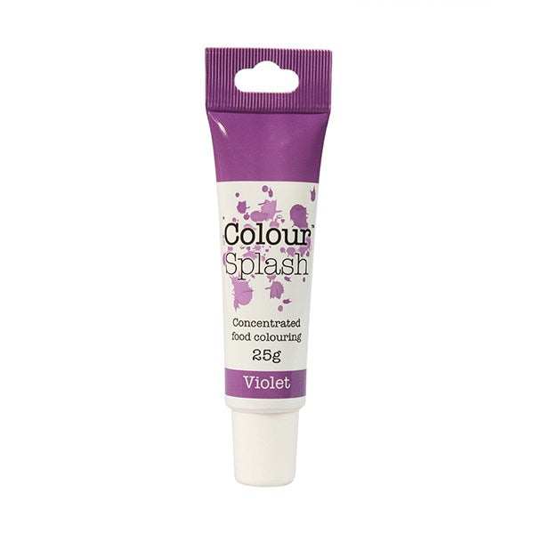 Violet Colour Splash Gel Paste 25g