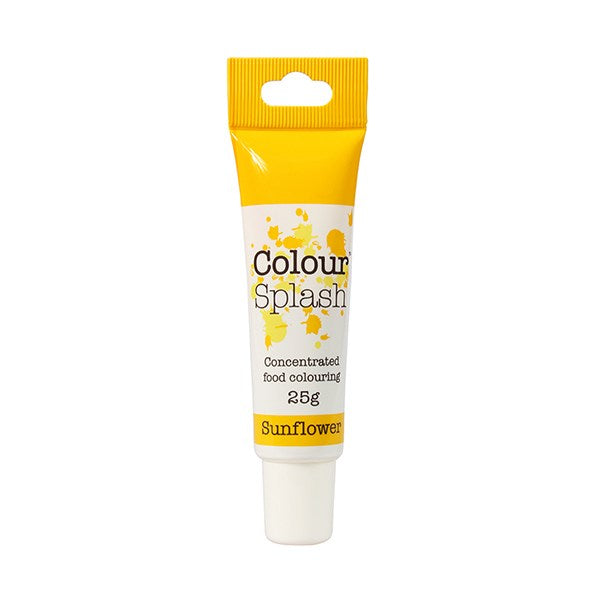 Sunflower Colour Splash Gel Paste 25g