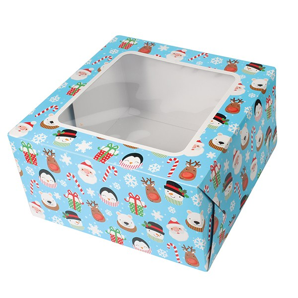 Children's Christmas Square Box 10''