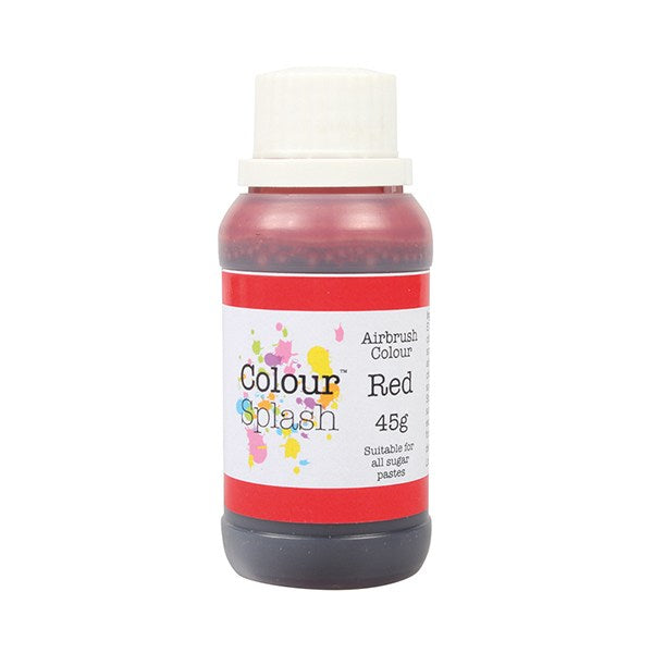 Colour Splash Airbrush Colour 45g  Red