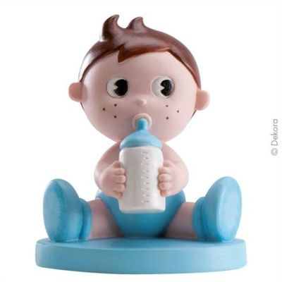 Cute Baby Topper Blue