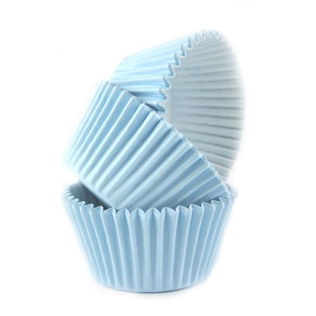 Cupcake Cases Sleeve 180 Baby Blue