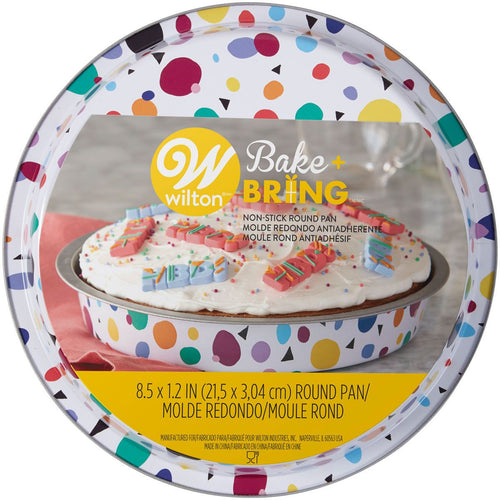 Bake and Bring Round Tin  8.5 x 1.2