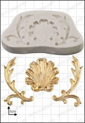 Baroque Shell Mould FPC C198