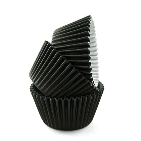Cupcake Cases Sleeve 180 Black