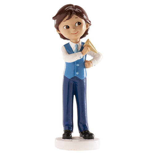 Communion Boy with Paper Plane 13cm