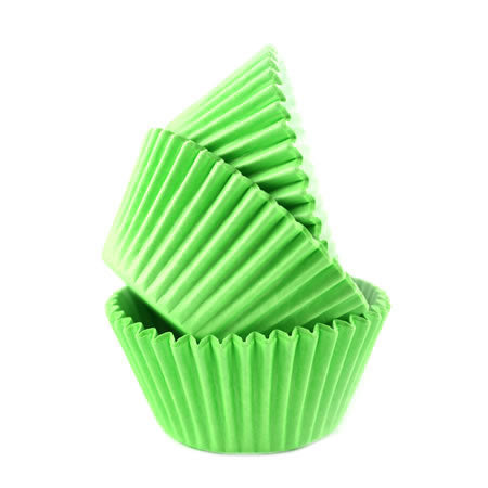 Cupcake Cases Sleeve 180 Bright Green