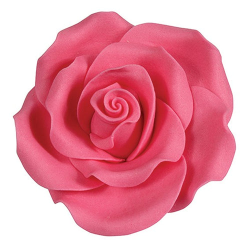 Sugar Rose Bright Pink 63 mm ( 8pcs)
