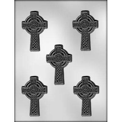 "Celtic Cross 3"" Chocolate Mould"