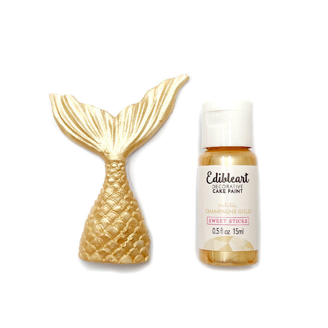 Edible Art Paint 15ml Champagne Gold