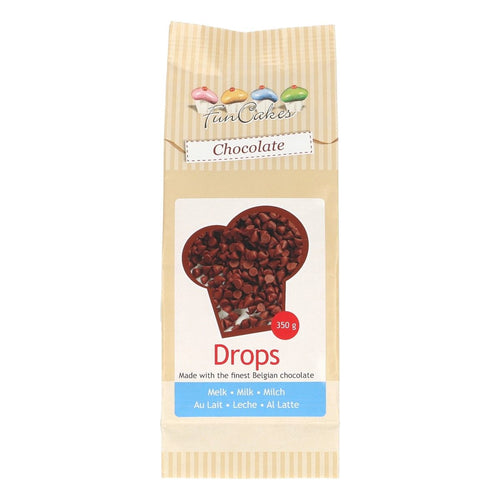 Chocolate Drops Milk 350g
