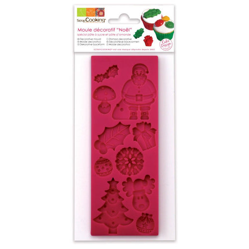 Christmas Sugar Paste Mould
