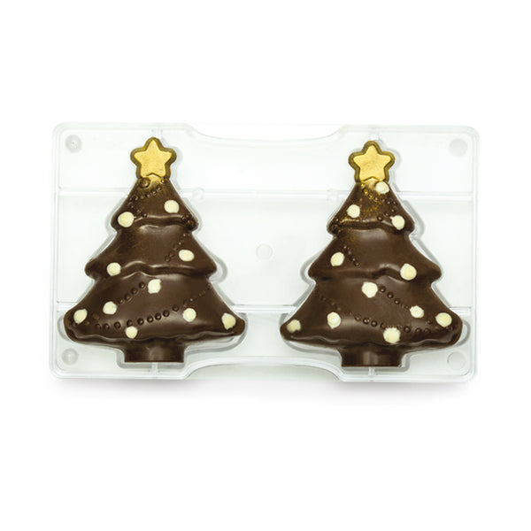 Xmas Tree Chocolate Mould DEC