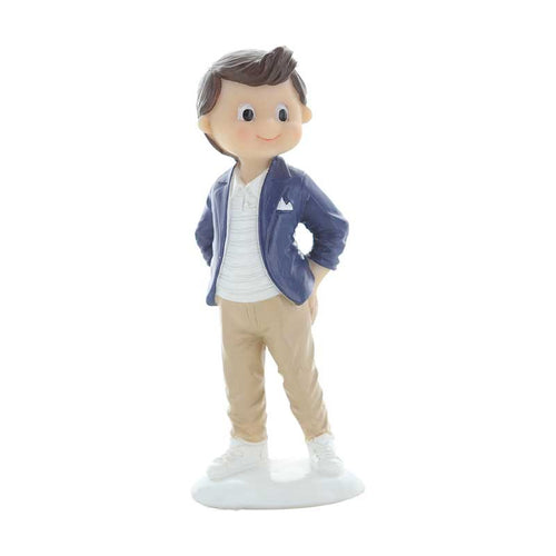 Cute Communion Boy Blue Blazor 12cm