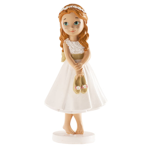 Communion Girl  Barefoot  13cm