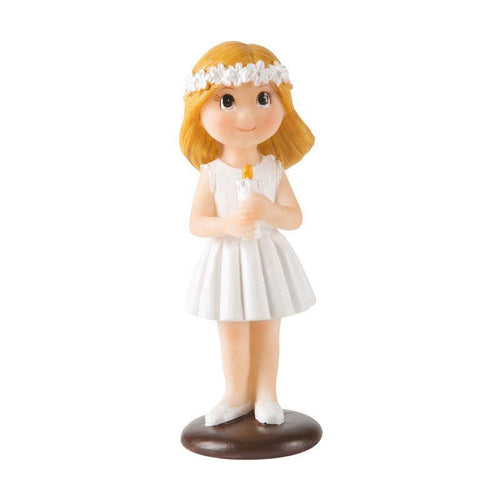 Communion Girl Figure with Candle