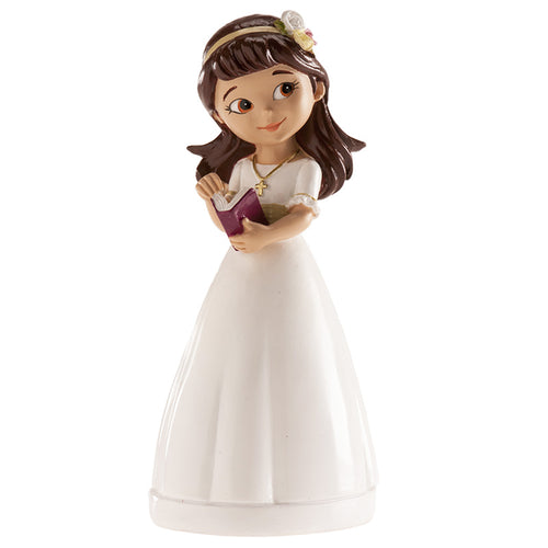 Communion Girl with Bible 13cm