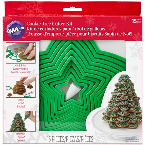 Cookie Cutter Tree Set 15 WILTON