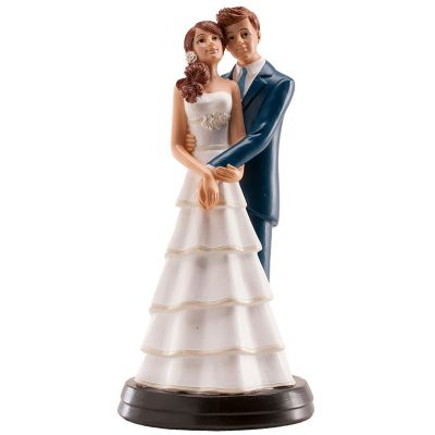 Wedding Embrace Couple Ornament