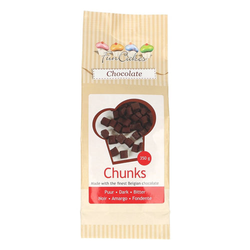 FunCakes Dark Chocolate Chunks 350g