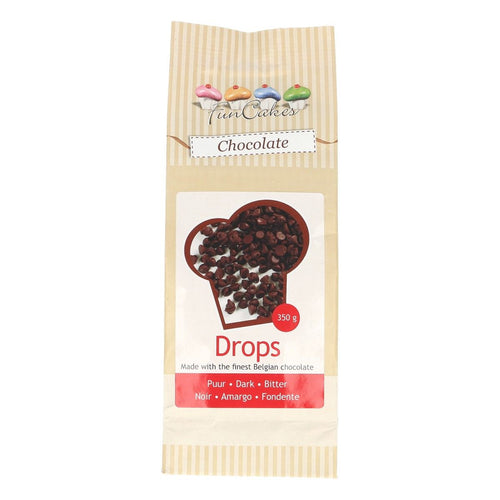 Chocolate Drops Dark 350g
