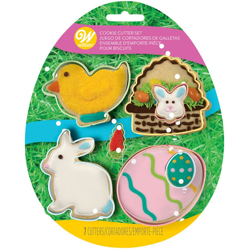 Easter Cookie Cutter Set 4