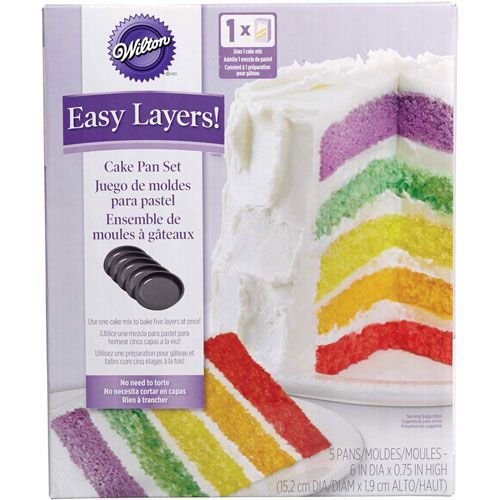 Wilton Easy Pan Layers Set Of 5