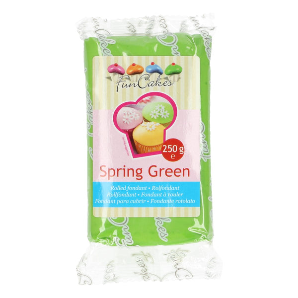 FunCakes Sugar Paste Spring Green 250g