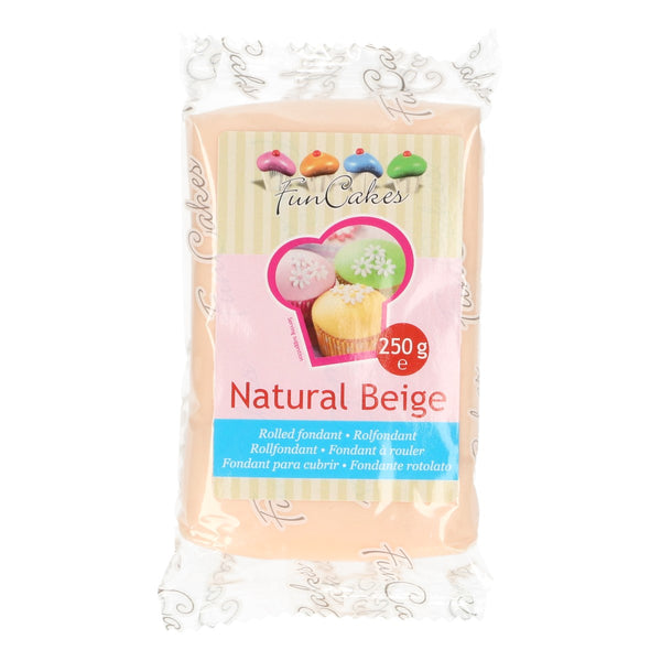 FunCakes Sugar Paste Natural Beige 250g