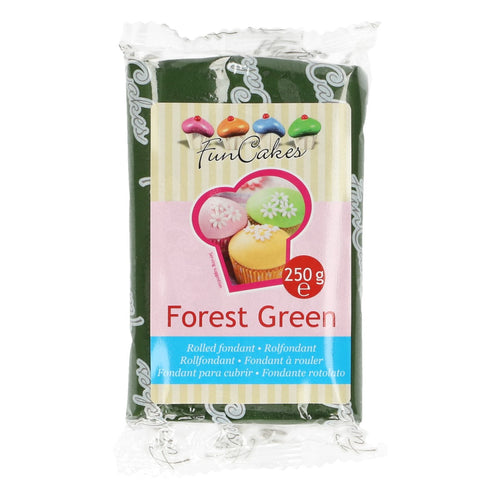 FunCakes Sugar Paste Forest Green 250g