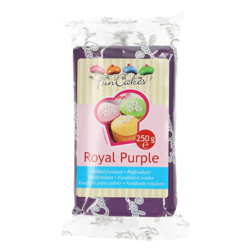 FunCakes Sugar Paste Royal Purple 250g