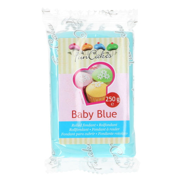 Baby Blue  FunCakes Sugar Paste 250g