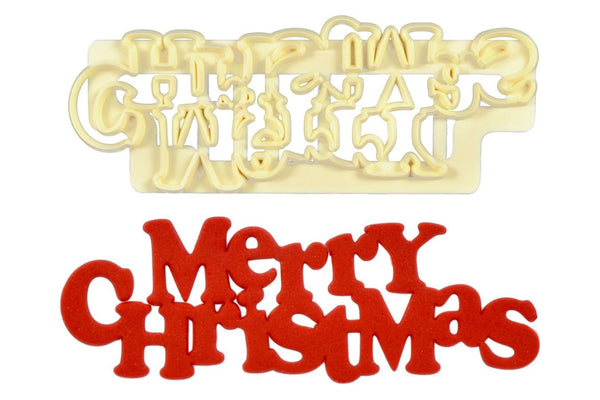FMM - Merry Christmas - Curved Words Cutter