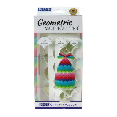 PME Fish Scale  Geometric Multicutter